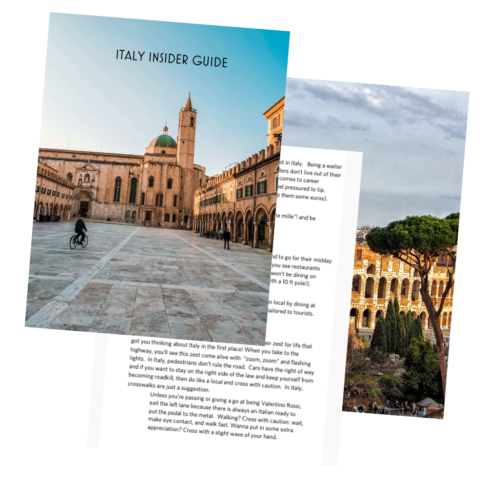 GRAB YOUR FREE ITALY INSIDER GUIDE